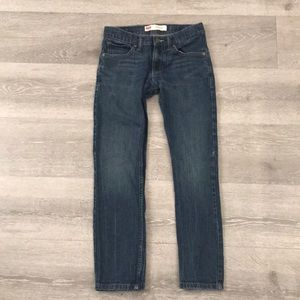 Women's Levi's 511 distressed jeans